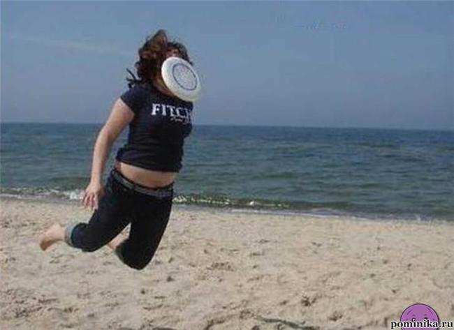 Летающая девушка